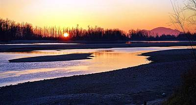 The Fraser River Art Print by Heather Vopni