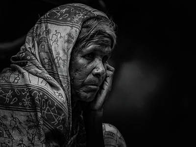 Photograph - In Deep Thought by Ramabhadran Thirupattur