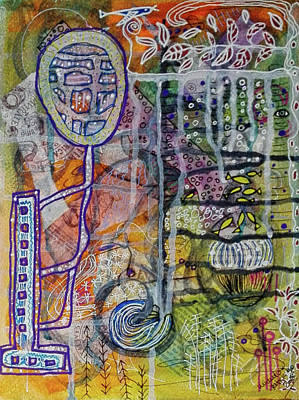 Mixed Media - In Depth by Mimulux patricia No