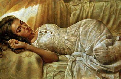 Wall Art - Painting - In Dream Captivity by Arthur Braginsky