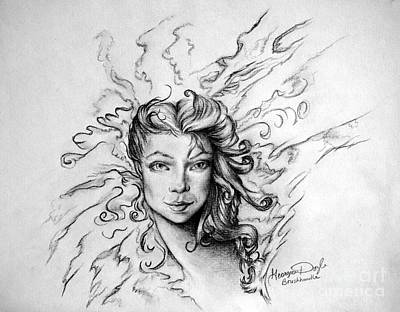 Drawing - In Dreams 1 by Georgia's Art Brush