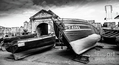 Photograph - In Dry Dock For Repairs by Rene Triay Photography