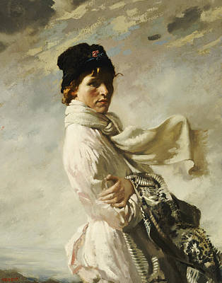Sir William Orpen Painting - In Dublin Bay by Sir William Orpen