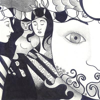 Kali Digital Art - In Feminine Form Part 2 by Helena Tiainen