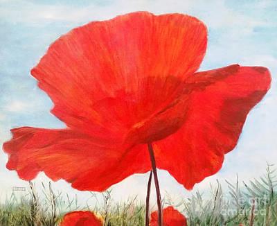 Painting - In Flanders Fields by Julie Bond