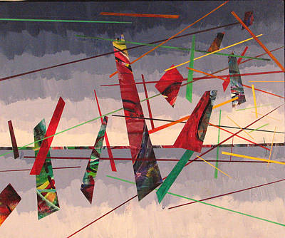 In Flight Art Print by Rollin Kocsis
