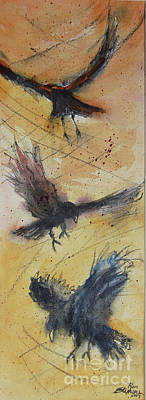 Painting - In Flight by Ron Stephens