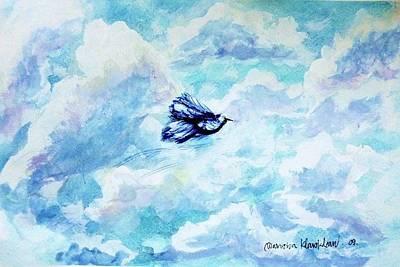 Painting - In Flight by Wanvisa Klawklean