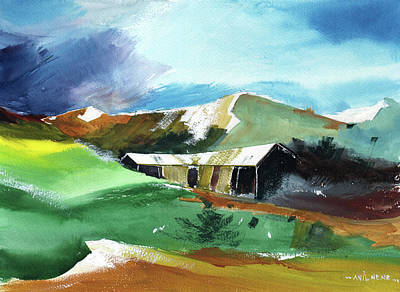 Painting - In Flux by Anil Nene