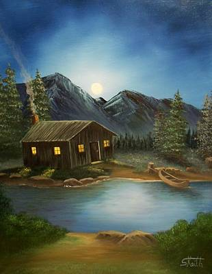 Painting - In For The Night by Sheri Keith