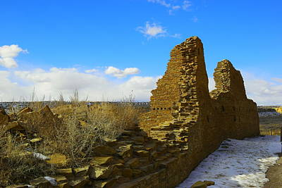 Chaco Canyon Photograph - In Forgotten Regions by Jeff Swan