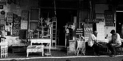 Board Game Photograph - In Front Of The Antique Store by Unsplash