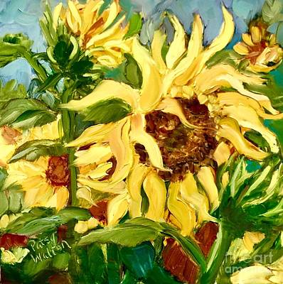 Painting - In Full Bloom by Patsy Walton