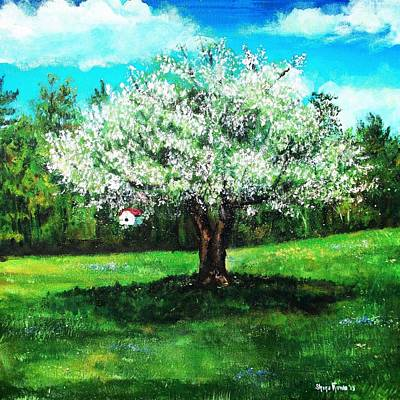 Shana Jackson Painting - In Full Bloom by Shana Rowe Jackson