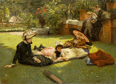 Painting - In Full Sunlight by James Tissot