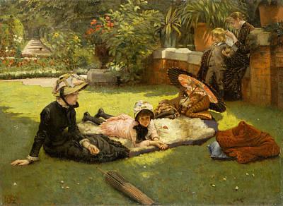 Painting - In Full Sunlight by James Tissot