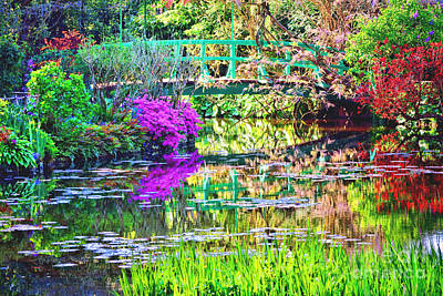 Photograph - In Giverny by Olivier Le Queinec