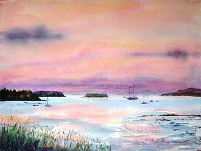 Painting - In Good Company by Diane Kirk