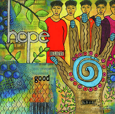 Mixed Media - In Good Faith by Angela L Walker