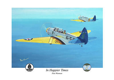 In Happier Times Art Print by Pete Wenman