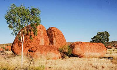 Photograph - In Harmony - Karlu Karlu - Devils Marbles, Northern Territory by Lexa Harpell