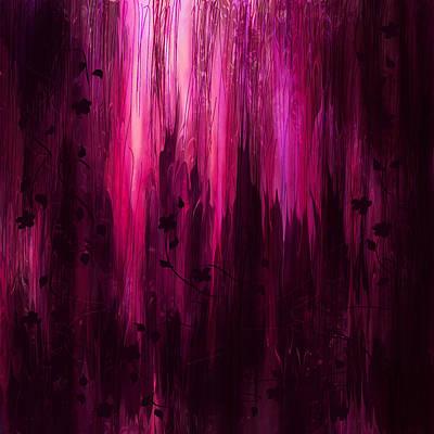 Psychological Digital Art - In His Presence by Rachel Christine Nowicki