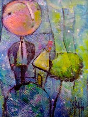 In His World Art Print by Eleatta Diver