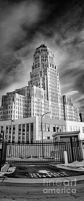 Buffalo City Hall Photograph - In It's Shadow by Chuck Alaimo