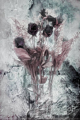 Photograph - In Light Of Sadness Bouquet Enlightened by Janie Johnson