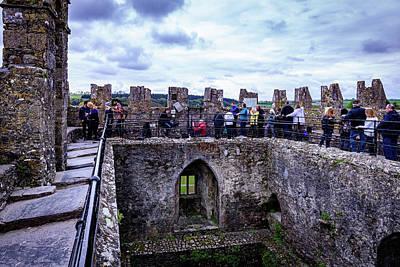 In Line To Kiss The Blarney Stone - Blarney Ireland Art Print
