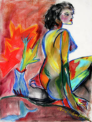Painting - In Living Color by Carol Schindelheim