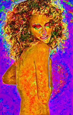 Rhythm And Blues Digital Art - in Love... by Lee Haxton