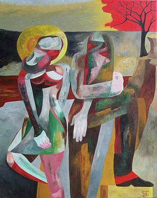 Painting - In Love With Isolation by Joseph York