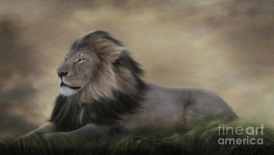 Painting - In Loving Memory Of Cecil by Lynn Jackson