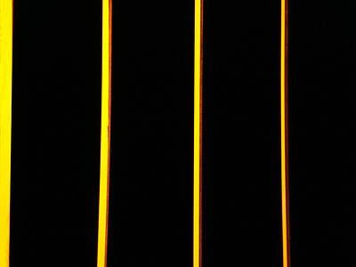 In Memory Of Dan Flavin Art Print by Kevin Callahan