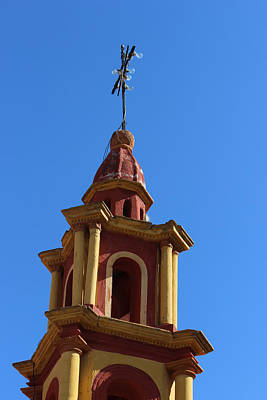 In Mexico Bell Tower Art Print