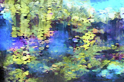 Painting - In Monet's Garden by Susan Maxwell Schmidt