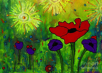 Mixed Media - In Morning's Glow by Angela L Walker