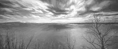 Yellowstone National Park Digital Art - In Motion II by Jon Glaser