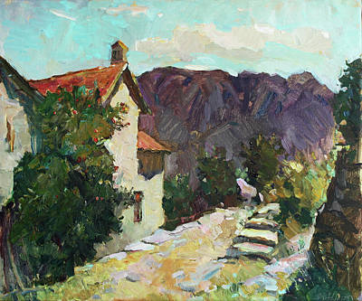 Painting - In Mountains Of Old Stolive by Juliya Zhukova