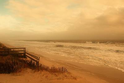 Nj Photograph - In My Dreams The Ocean Sings - Jersey Shore by Angie Tirado