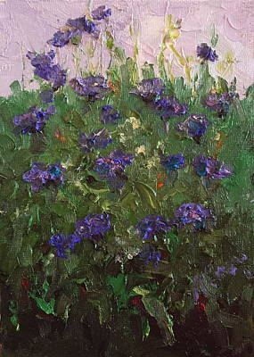 Painting - In My Garden Two by Marie Green