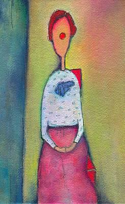 In My Polka Dot Blouse Original by Ricky Sencion