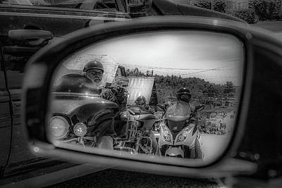 Photograph - In My Rear View by Kendall McKernon