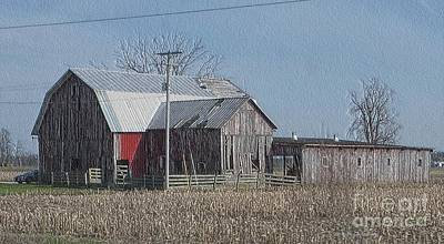 Photograph - In Need Of Repairs by Kathie Chicoine