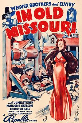 1940s Mixed Media - In Old Missouri 1940 by Mountain Dreams