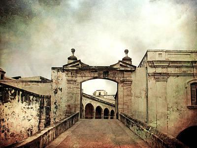 In Old San Juan Print by Julie Palencia
