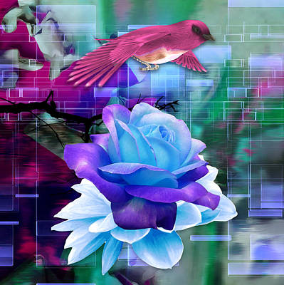 Mixed Media - In One's Element by Marvin Blaine