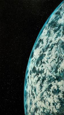 Painting - In Orbit #2 by Patrick Zgarrick