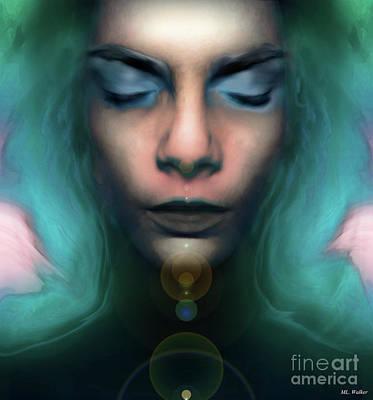 Painting - in Oxytocin by ML Walker